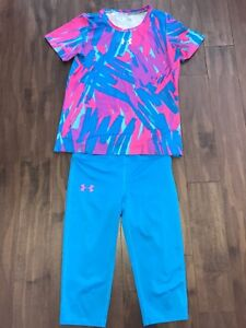 Under armour outfit size Medium kids