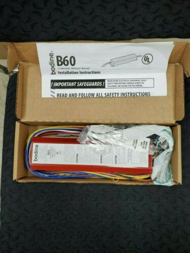 Bodine B60 Fluorescent Emergency Ballast~ New ~