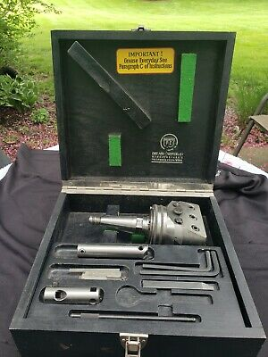 Wohlhaupter Upa-3 Boring Head W Box And Accessories. Moore Tools Shank