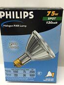 PHILIPS Halogen PAR Lamp 75PAR30L/SPl0 130V ( 2500 Hours)