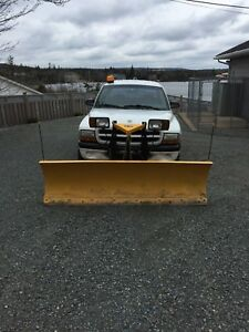 2001 dodge Dakota  4x4 plow truck