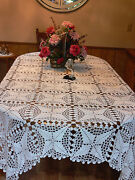 Cotton Crochet Tablecloth