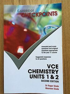 Cambridge Checkpoints VCE chemistry unit 1,2 Beaumaris Bayside Area Preview