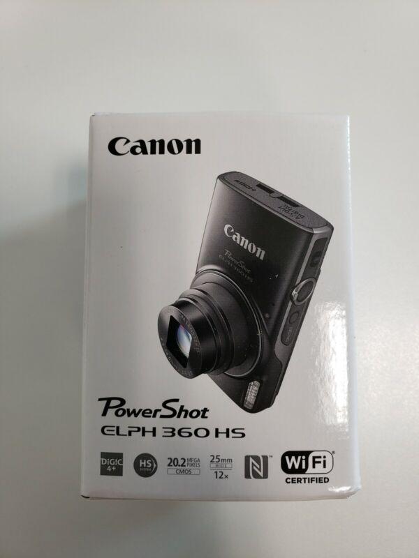 Canon PowerShot ELPH 360 HS - Silver