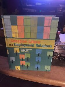 Canadian Labour and Employment Relations Book