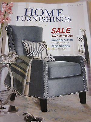 Lamps Plus Catalog Home Furnishings Summer 2015 Catalog Brand New