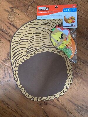 Thanksgiving Craft For Kids (Creatology Foam Build-A-Scene Thanksgiving Student Kids Fun Craft)