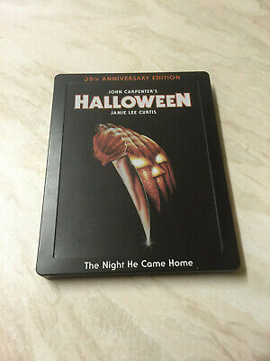 Halloween - 35th Anniversary Edition Blu-Ray - Limited Edition Steelbook  - Halloween 35th Anniversary Edition