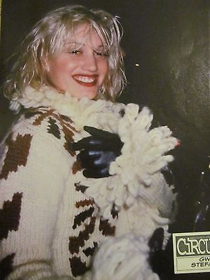 Gwen Stefani, No Doubt, Full Page Vintage Pinup
