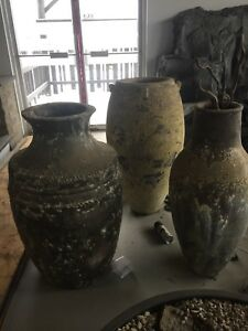 Assorted Vietnamese vases