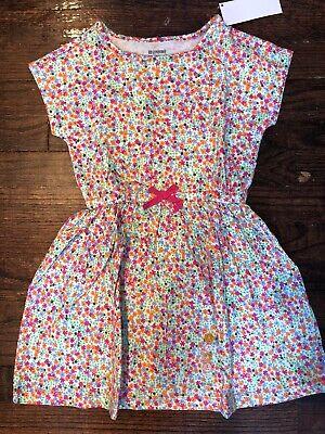 Gymboree Girls Spring Summer Flower Dress Size Small 5/6 NWT! - Small Flower Girl Dresses