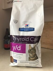Nourriture pour chat hill's thyroid care