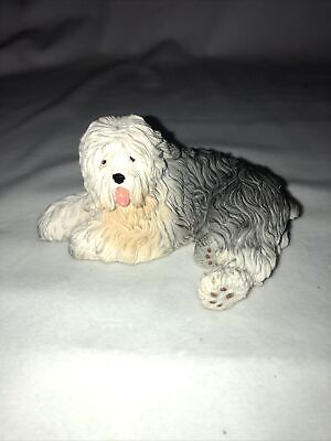 Old (Olde) English Sheepdog - Hand Painted - Resin - New In Box - Breyer Like