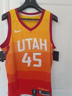 Nike nba swingman jersey size xl. Utah jazz mitchell 45 .