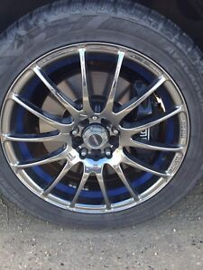 rims and winter tire