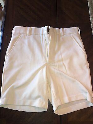 1950s Mens Suits & Sport Coats   50s Suits & Blazers polyester  vintage textured 1950's Men's Shorts Size 34 White Classic $24.00 AT vintagedancer.com