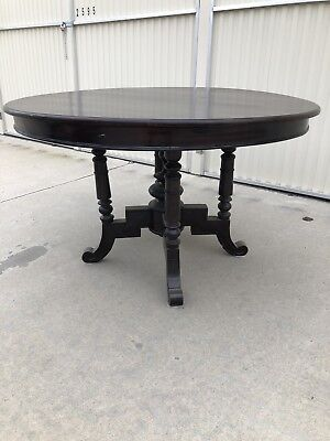 1900 1950 Antique Round Dining Table Vatican