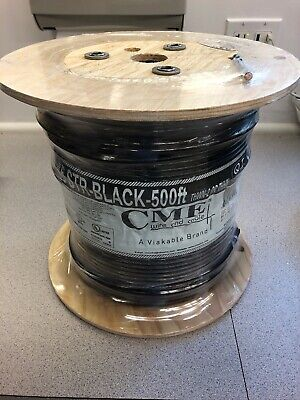 Cme  6-awg 500-ft Stranded Black Copper Thhn Electrical Wire New