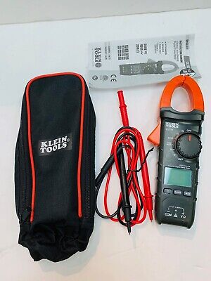 Klein Tools Cl110 400a Auto-ranging Digital Clamp Meter With Leads And Case