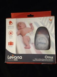 Levana clip on baby movement monitor