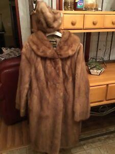 Exclusive Furriers Mink Coat