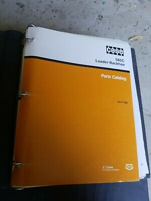Case Model 580c Loader Backhoe Tractor Parts Catalog Manual Book F1283