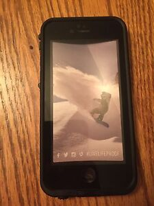 Black lifeproof case for iPhone 6/6s