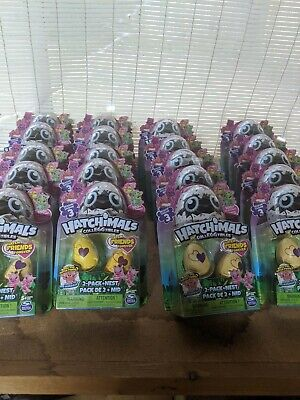 Hatchimals Surprise Eggs (2 Eggs + NEST) Season 3, Pack Of 10. Selling 2 cases.