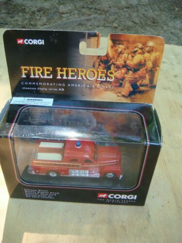 Corgi diecast Fire Heroes vehicle