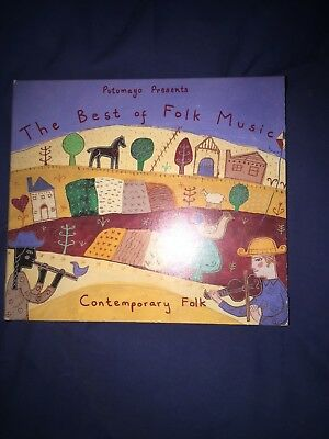 Putumayo Presents: THE BEST OF FOLK MUSIC, CONTEMPORARY FOLK (1993)