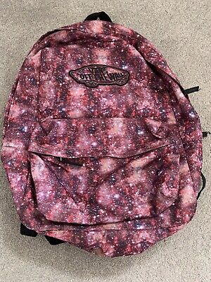 Vans Backpack Pink Galaxy