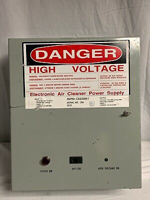 High Voltage Electronic Air Cleaner Power Supply Voltage 108 To 132vac