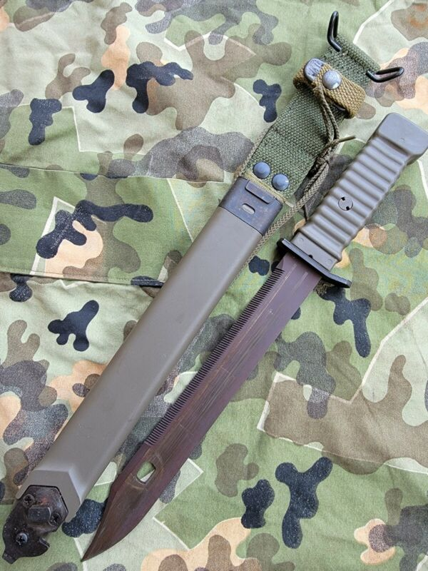 KCB LONG FIGHTING KNIFE NOT THE KCB77 LONG GALIL BAYONET