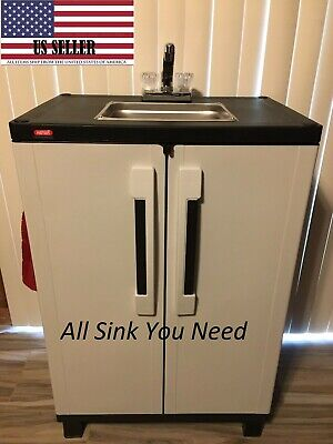 Portable Sink Nsf Mobile Handwash Self Contained Hot Water Concession 110v