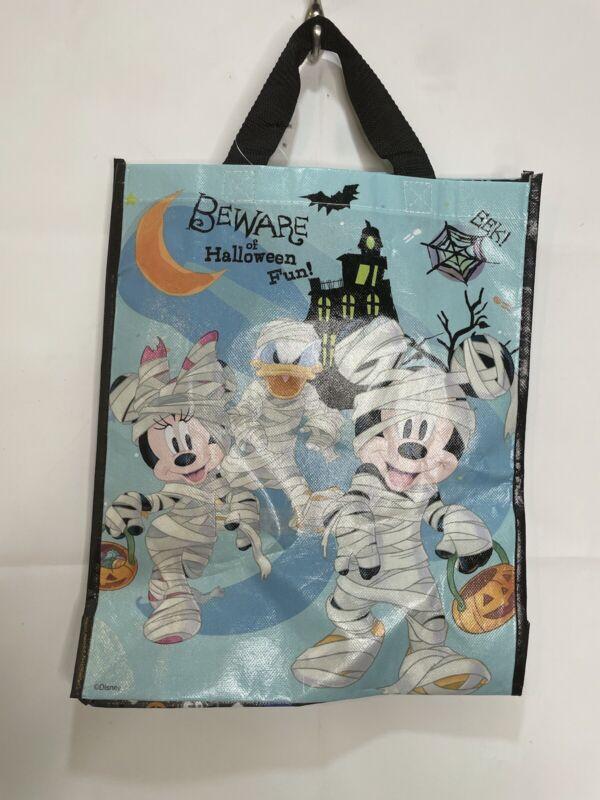 Disney Mickey & Friends Beware of Halloween Fun! Trick or Treat Tote Bag