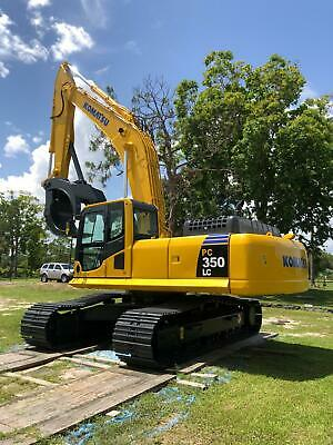 2010 Komatsu Pc 350 Lc-8 Hydraulic Excavator - 10927 Hours -excellent Condition