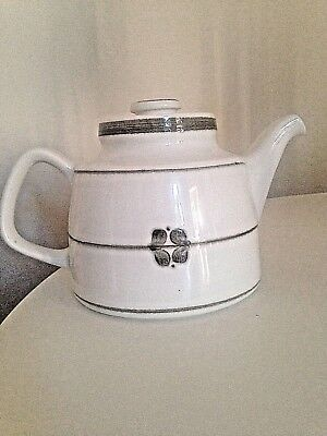 LGE VINTAGE RORSTRAND 60S NORDICA TEAPOT POTTERY SWEDEN MIDCENTURY RARE CERAMIC