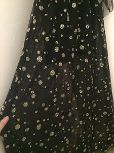 Sass and bide size 8 evening gold and black dress Edgecliff Eastern Suburbs Preview