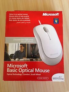 Brand New Microsoft Basic Optical Mouse Bassendean Bassendean Area Preview