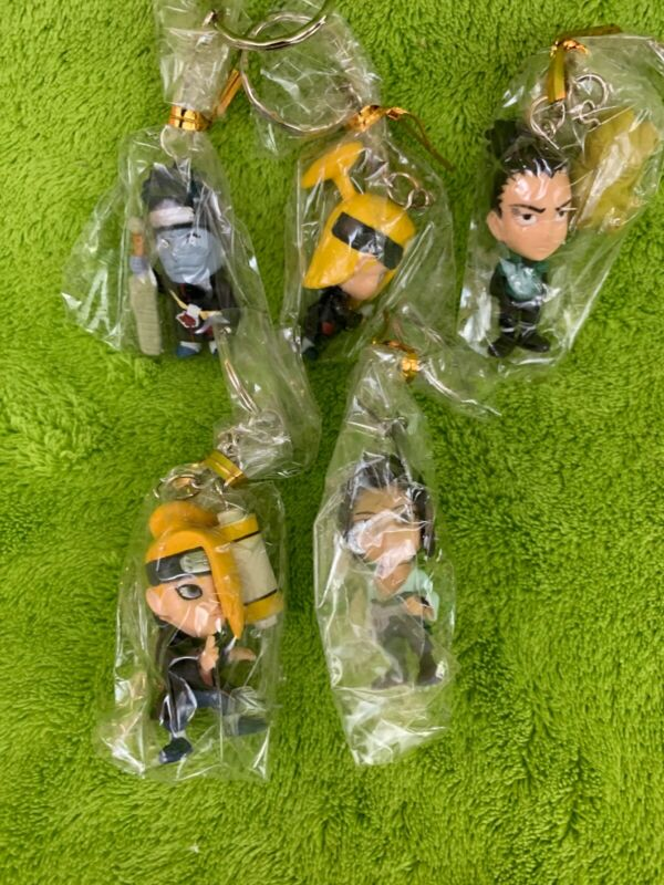 Lot of 5 Naruto Key Chains - BRAND NEW!!!!