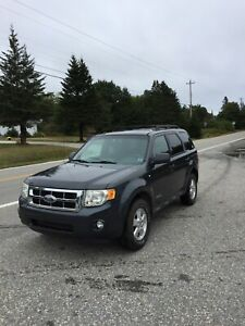 08 Ford Escape V6 auto 4x4 one owner 220000k