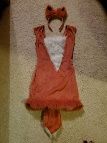 Costume, Junior Girls Cute Fox Size S