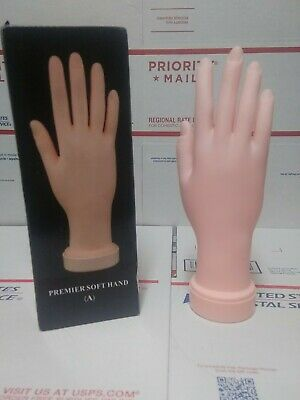 Practice Flexible Mannequin Hand Display With Soft Hand Fingers