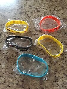 5 brand new Pokemon bracelets