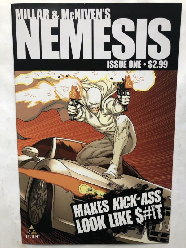 Millar & McNiven's Nemesis Number 1 Marvel Comics May 2010 Icon Optioned🔥🔥