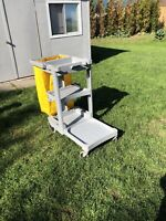 Cleaning cart/janitorial cart