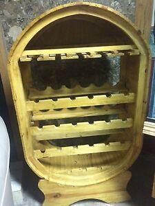 Wine Rack Solid Wood
