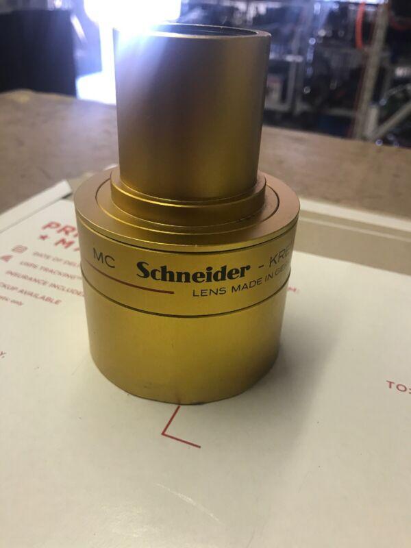 Schneider - Kreiznach Super-Cinelux 2/85mm Lens Germany