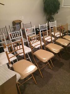Beautiful Folding Chiavari Chairs for Rent  London Ontario image 1