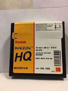 KODAK MICROFILM 16MMX215 FT